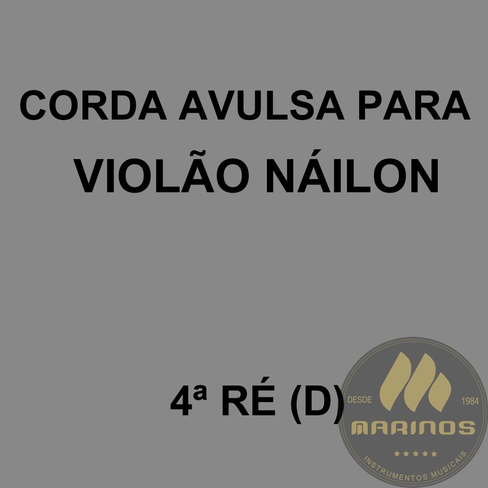 Corda Avulsa para Violão Náilon 4ª RÉ (D) GNR