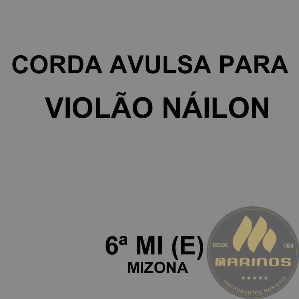 Corda Avulsa para Violão Náilon 6ª MI (E) GNR