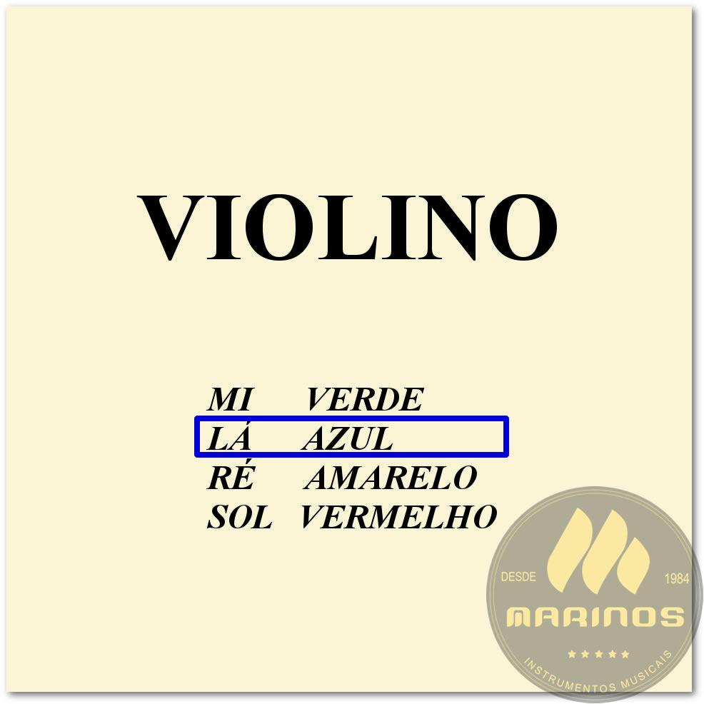 Corda Avulsa Para Violino 2ª LÁ (A) MAURO CALIXTO