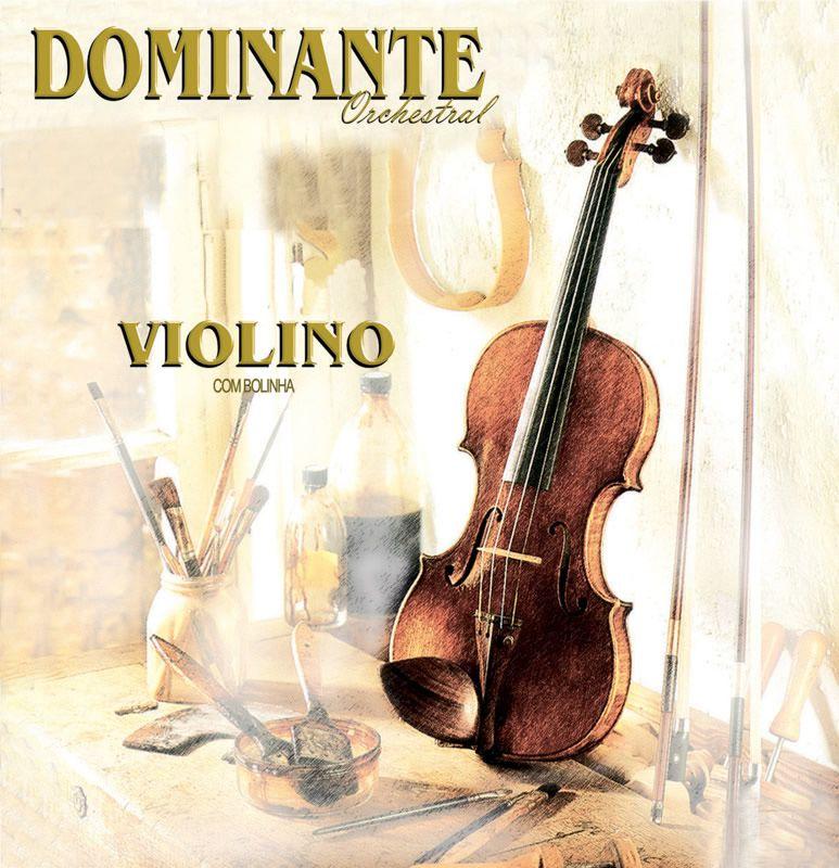Corda Avulsa para Violino 4ª SOL (G) DOMINANTE