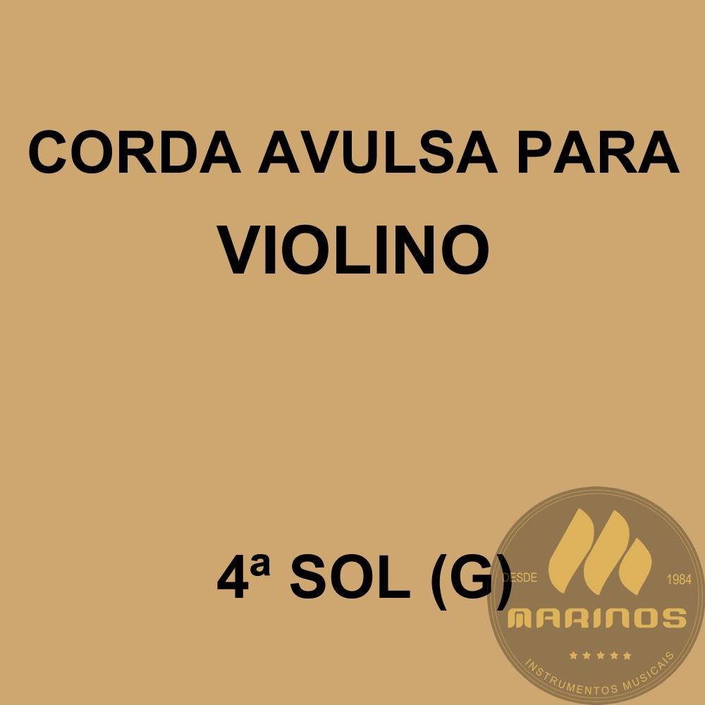 Corda Avulsa para Violino 4ª SOL (G) GNR