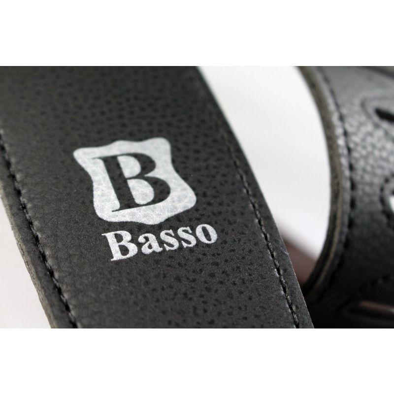 Correia BASSO Couro 6 cm VINTAGE VT L01 Preto