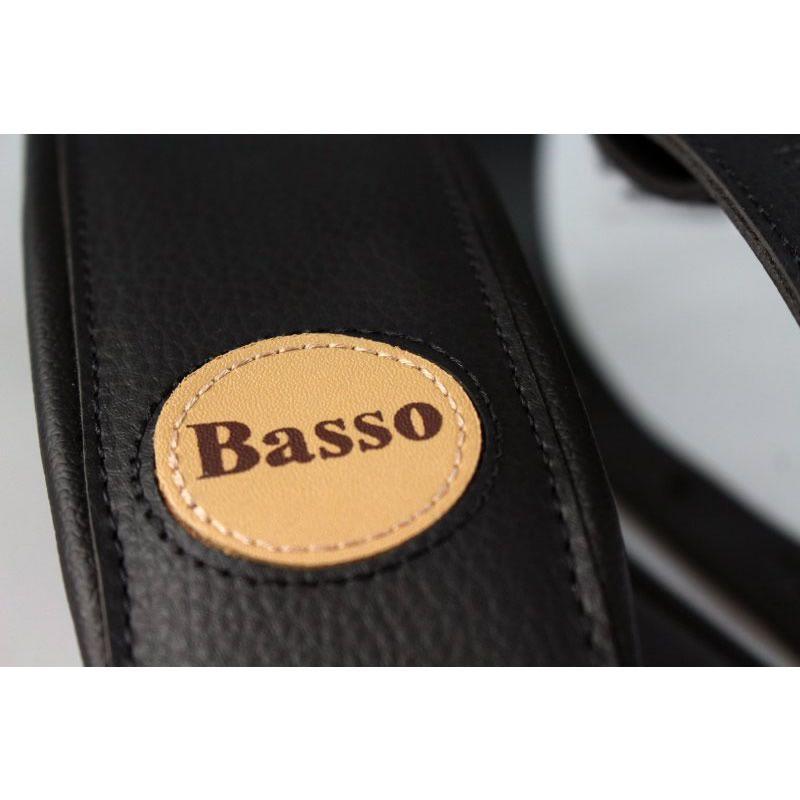 Correia BASSO Couro 7.5 cm CLASSIC CLA13 Preto