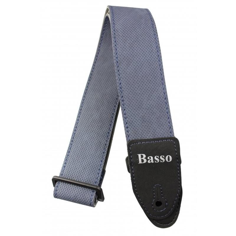 Correia BASSO SERIGRAFIA Couro 5 cm SF119 Jeans Austin