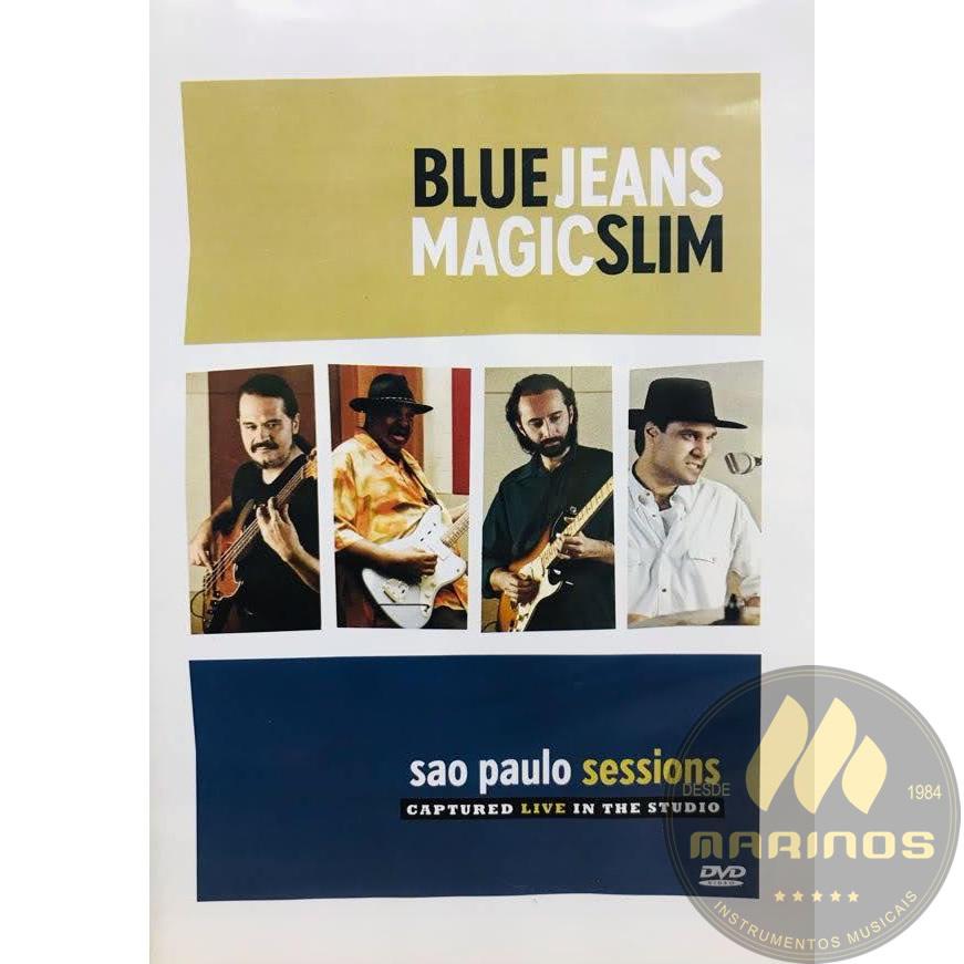 DVD Blue Jeans Magic Slim - São Paulo Sessions
