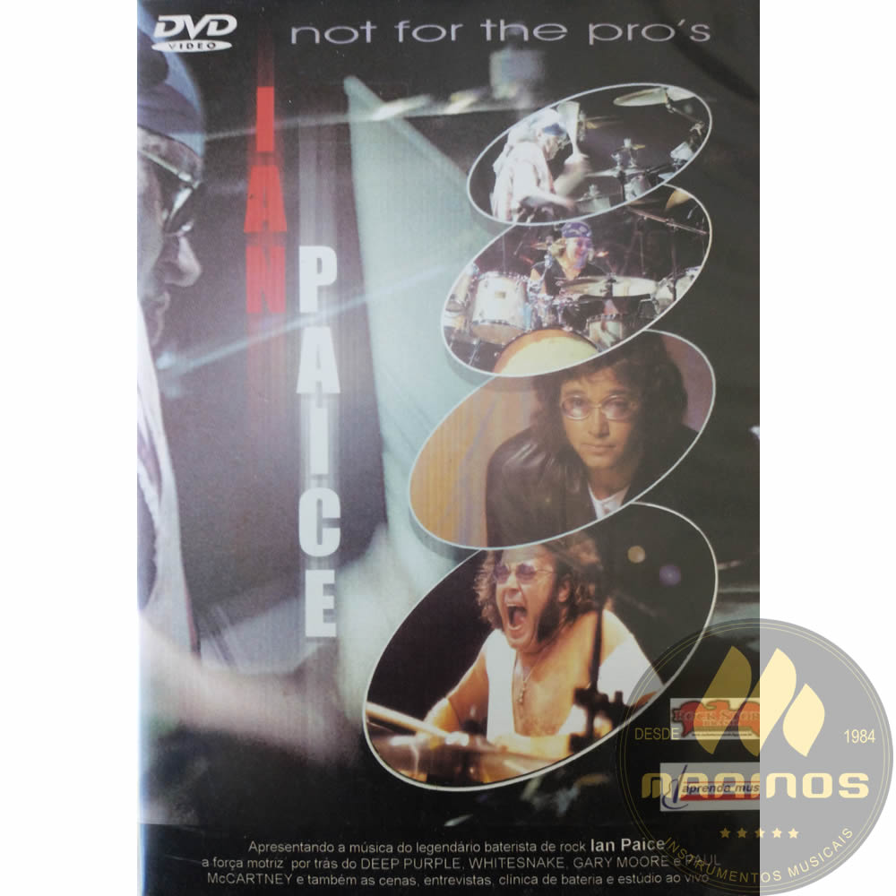 DVD Not For The Pro's - Ian Paice