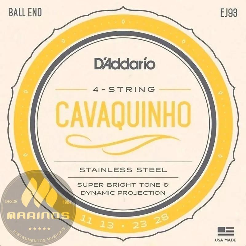 Encordoamento DADDARIO Cavaco EJ93