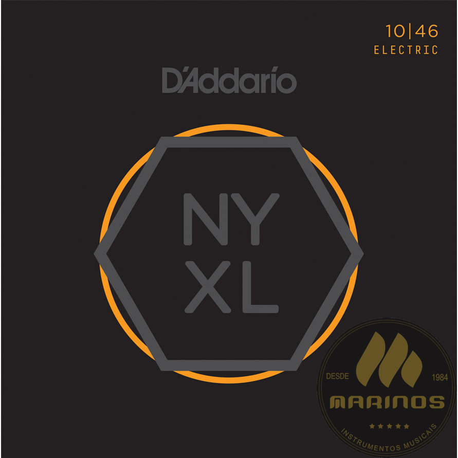 Encordoamento DADDARIO Guitarra 010 NYXL1046