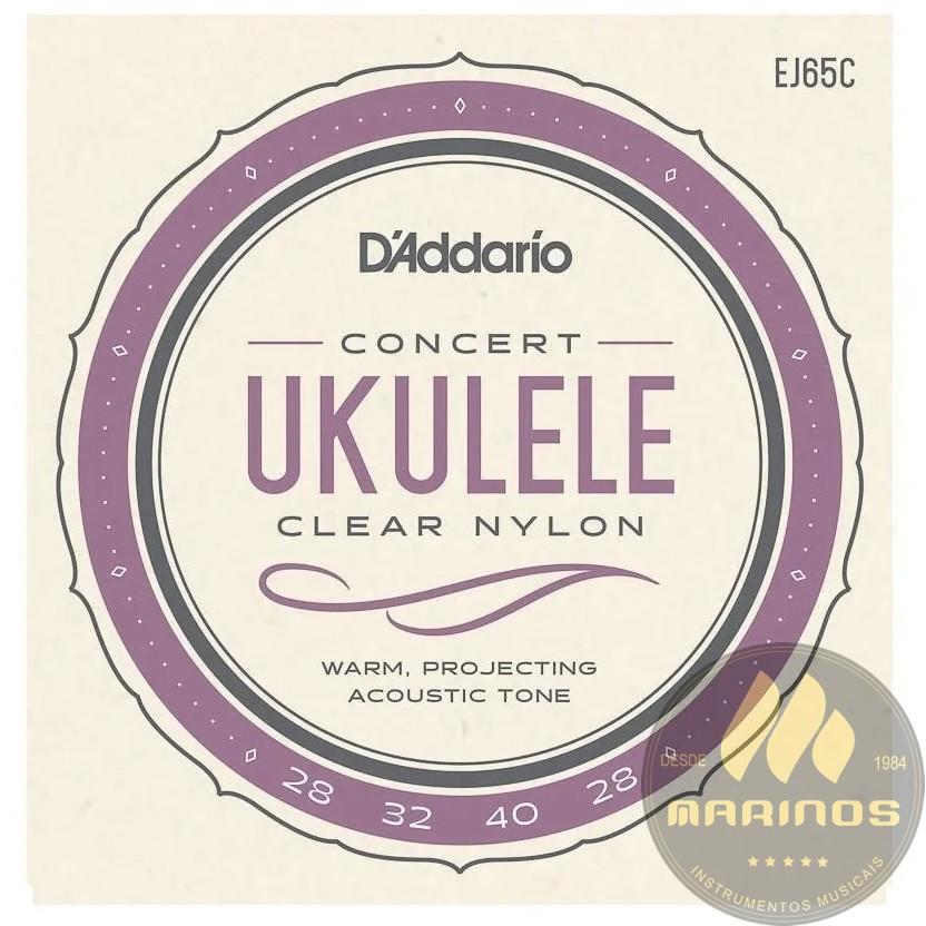 Encordoamento DADDARIO Ukulele Concert EJ65C