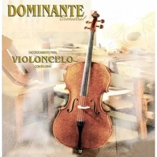 Encordoamento DOMINANTE Violoncelo ORCHESTRAL 5310