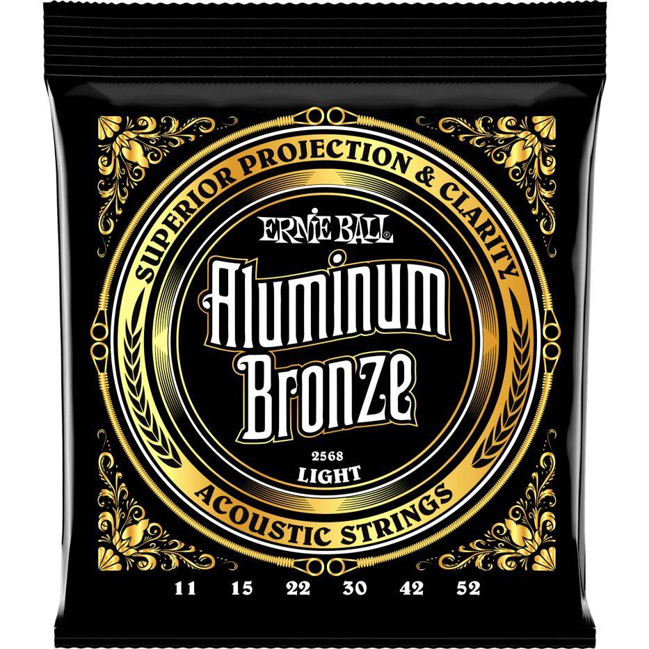 Encordoamento ERNIE BALL Violão Aço Aluminum Bronze 011-052 P02568
