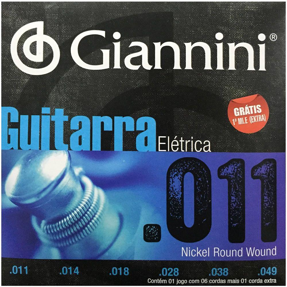 Encordoamento GIANNINI Guitarra 011 GEEGST11