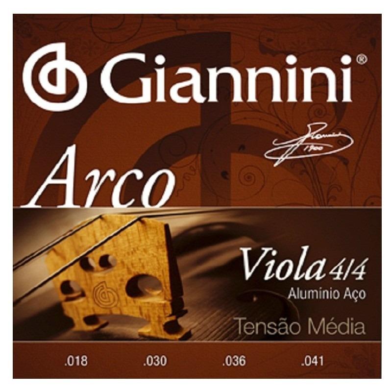 Encordoamento GIANNINI Viola de Arco GEAVOA