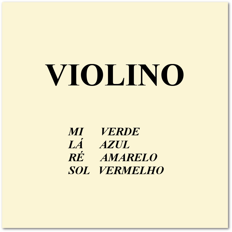 Encordoamento MAURO CALIXTO Para Violino