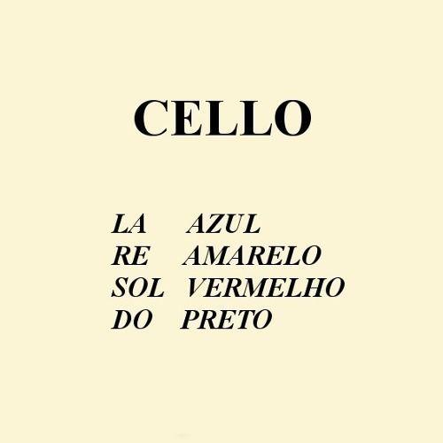 Encordoamento Mauro Calixto Violoncelo