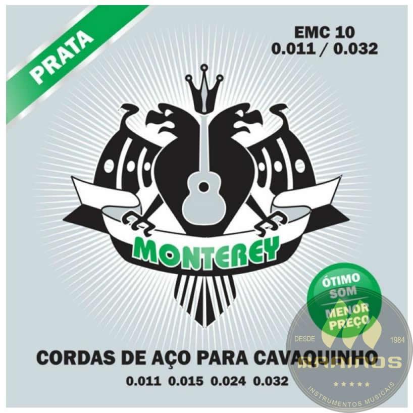 Encordoamento MONTEREY Cavaco 011 EMC10 Prata