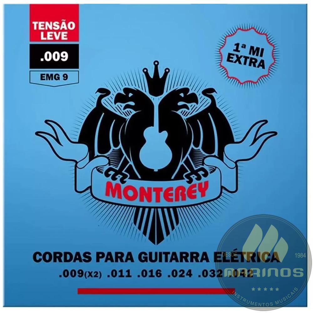 Encordoamento MONTEREY Guitarra 009 EMG9