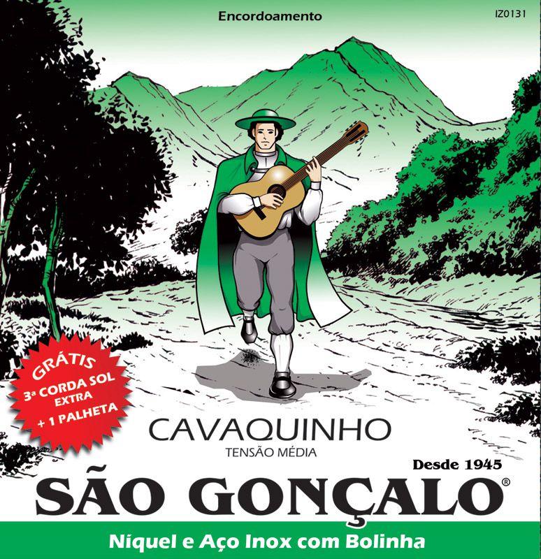 Encordoamento SÃO GONÇALO Cavaco Com Bolinha IZ0131