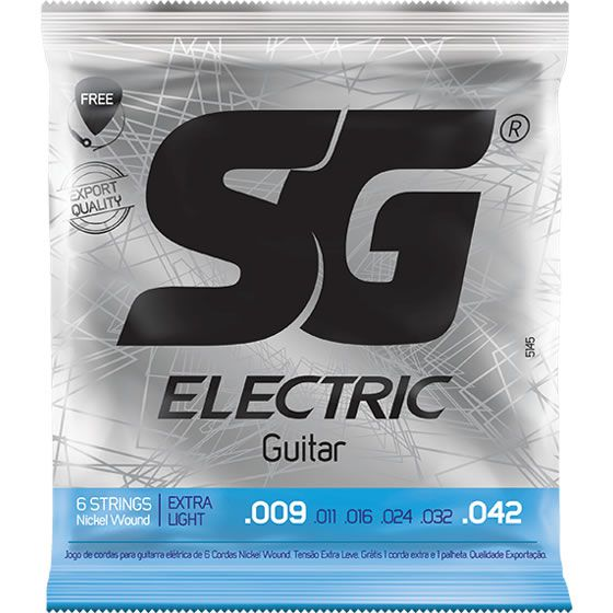 Encordoamento SG Guitarra 009 SG5145