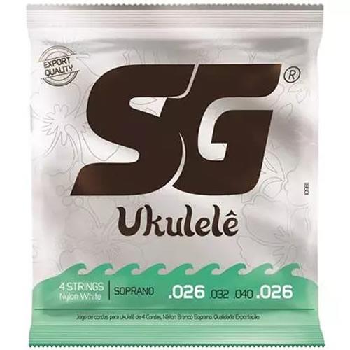 Encordoamento SG Ukulele Soprano SG10981