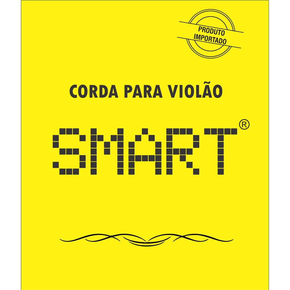 Encordoamento SMART Violão Aço Média EVA010