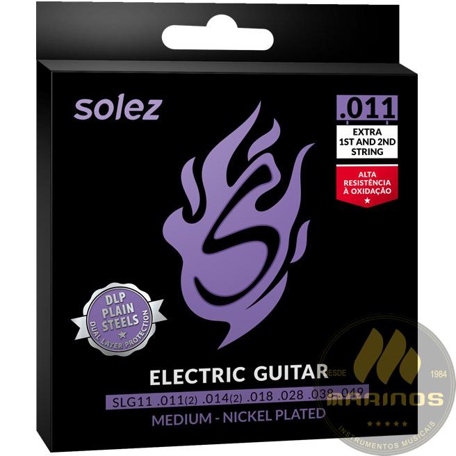 Encordoamento SOLEZ Guitarra 011 SLG11