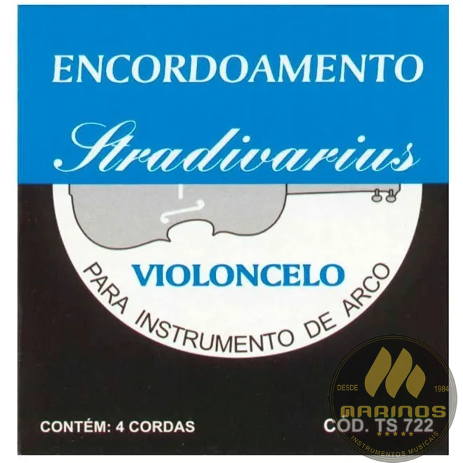Encordoamento STRADIVARIUS Violoncelo TS722