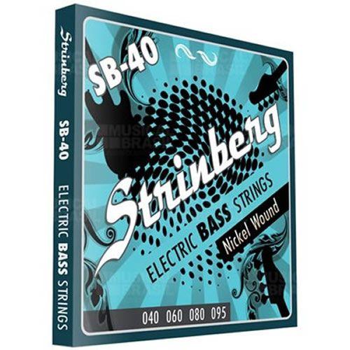 Encordoamento STRINBERG Contrabaixo 4 Cordas 040 SB40