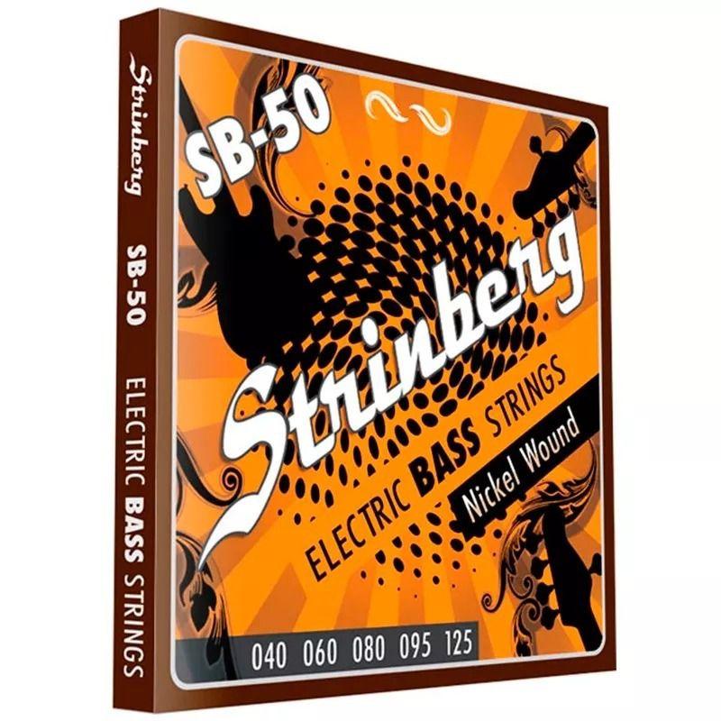 Encordoamento STRINBERG Contrabaixo 5 Cordas 040 SB50