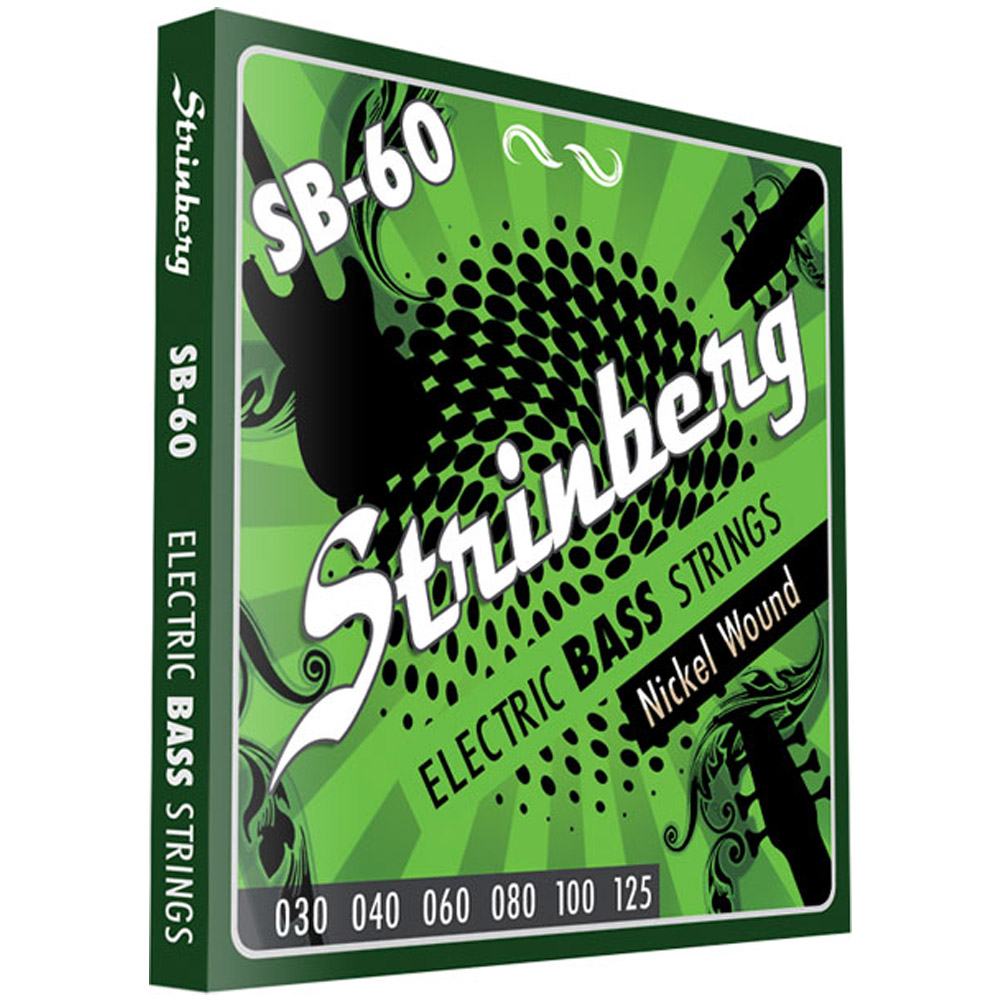 Encordoamento STRINBERG Contrabaixo 6 Cordas 030 SB60