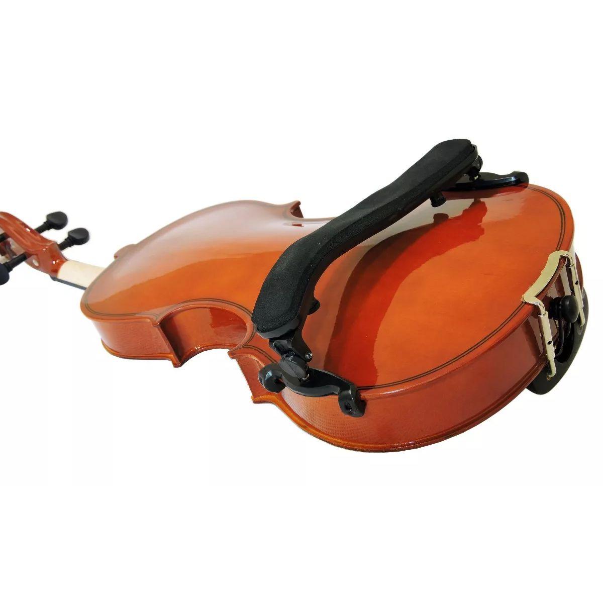 Espaleira MARINOS Violino 3/4 e 4/4 Regulável MEA-056 ABS Preto