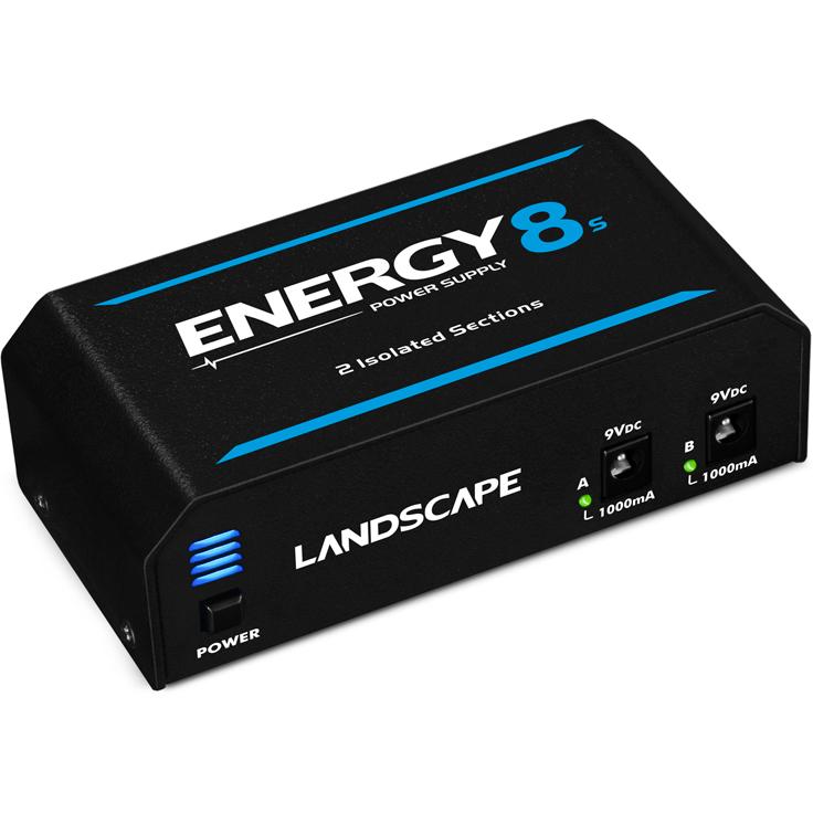 Fonte Pedal LANDSCAPE 10 Pedais Energy 8S