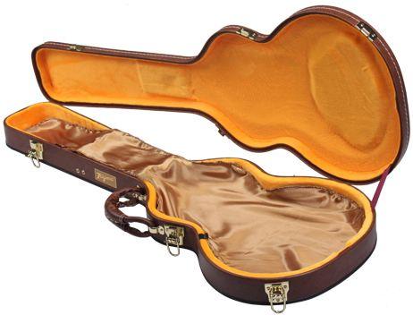 Guitarra TAGIMA TLP Flamed TA Transparent Amber Com Case