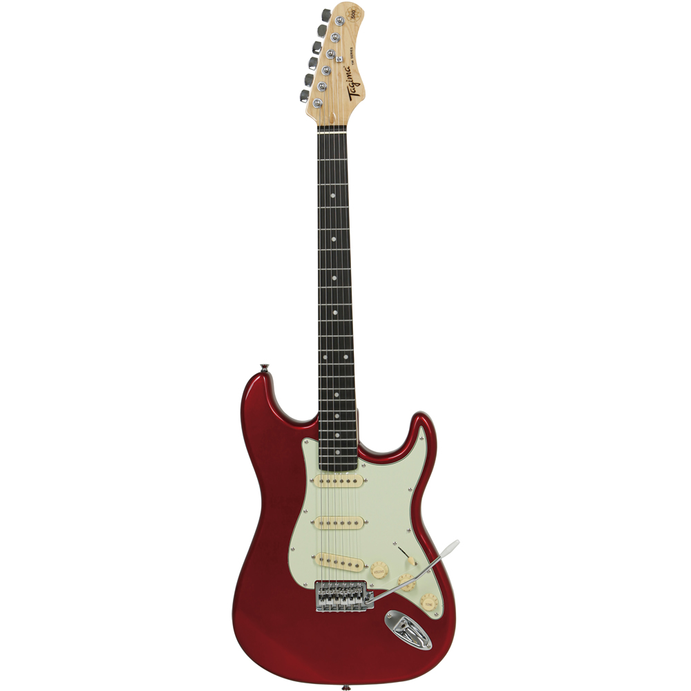 Guitarra TAGIMA Woodstock TG 500 CA Candy Apple Escudo MG