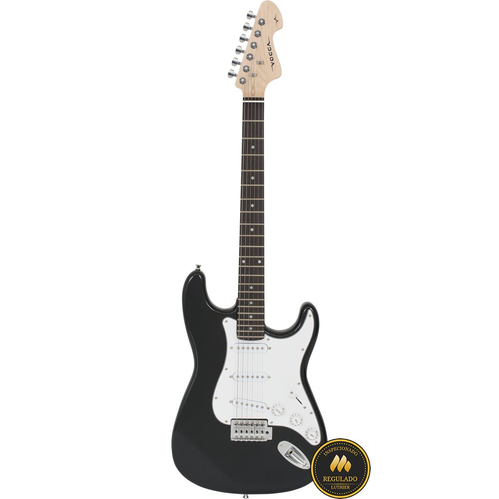 Guitarra VOGGA Stratocaster VCG601N MBK Preto
