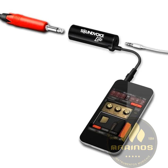 Interface de Instrumento SOUNDVOICE Celular LITE AMPLIFY IT70