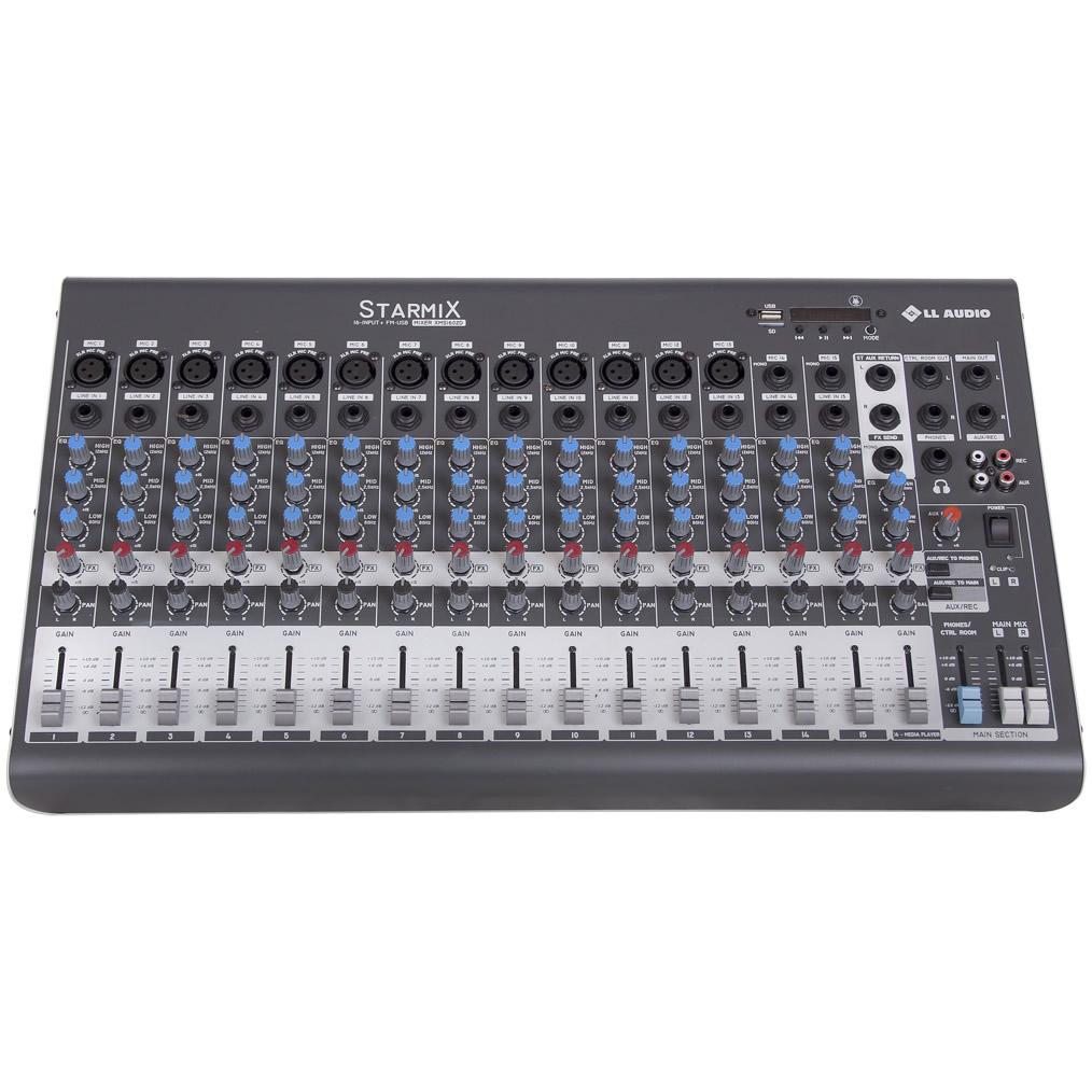 Mesa de Som LL AUDIO STARMIX 16 Canais XMS1602D