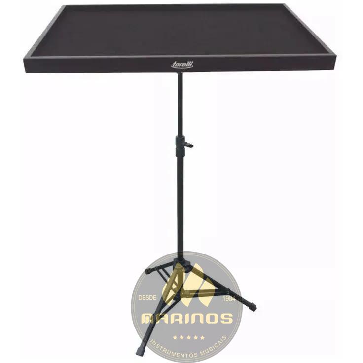 Mesa para Percussionista TORELLI Com Pedestal TA185