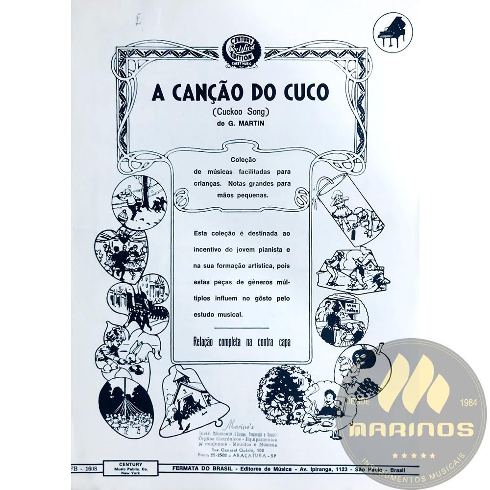 Método Partitura Piano - A CANÇÃO DO CUCO - G. Martin