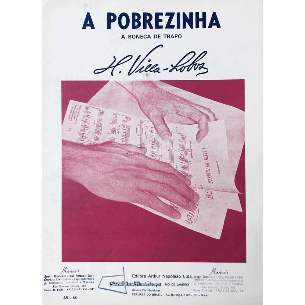 Método Partitura Piano - A POBREZINHA A BONECA DE TRAPO - H. Villa Lobos
