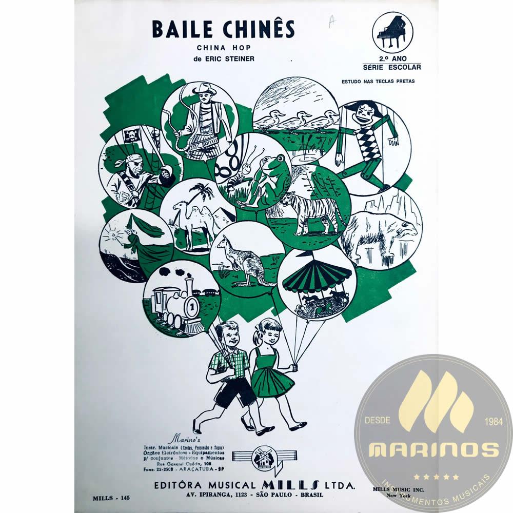 Método Partitura Piano - BAILE CHINES - Eric Steiner