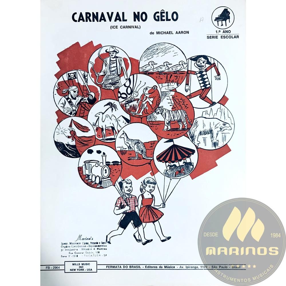 Método Partitura Piano - CARNAVAL NO GELO - Michael Aaron