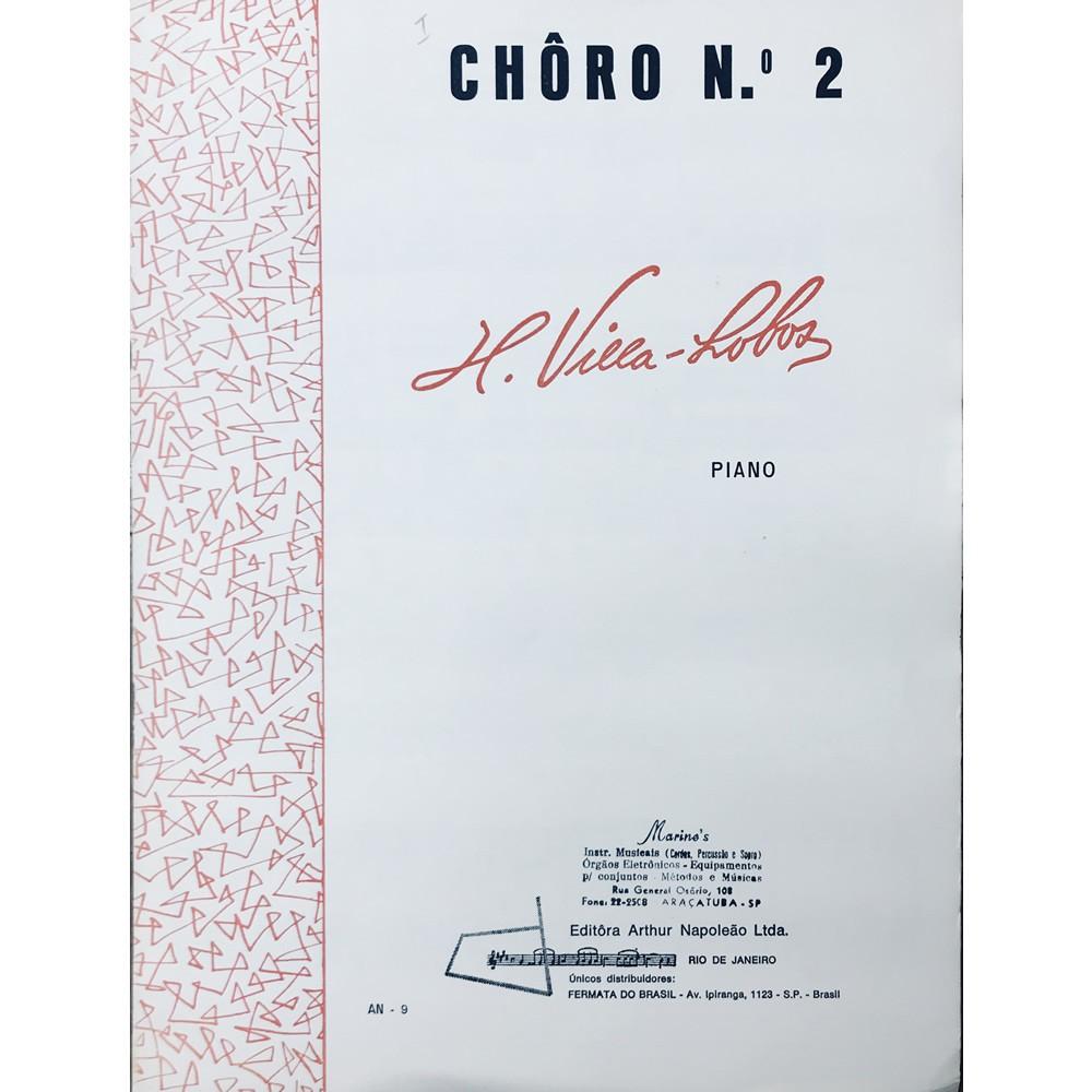 Método Partitura Piano - CHÔRO Nº 2 - H. Villa Lobos