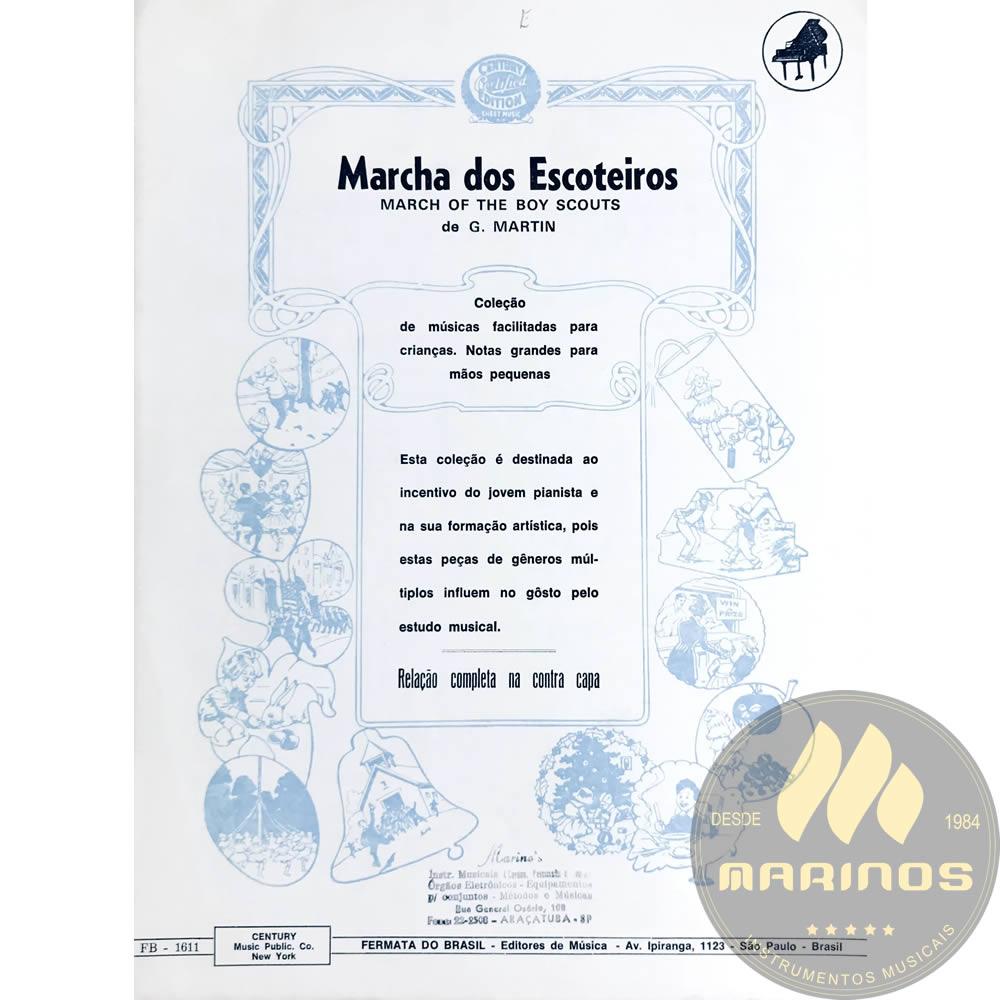 Método Partitura Piano - Marcha Dos Escoteiros - G. Martin