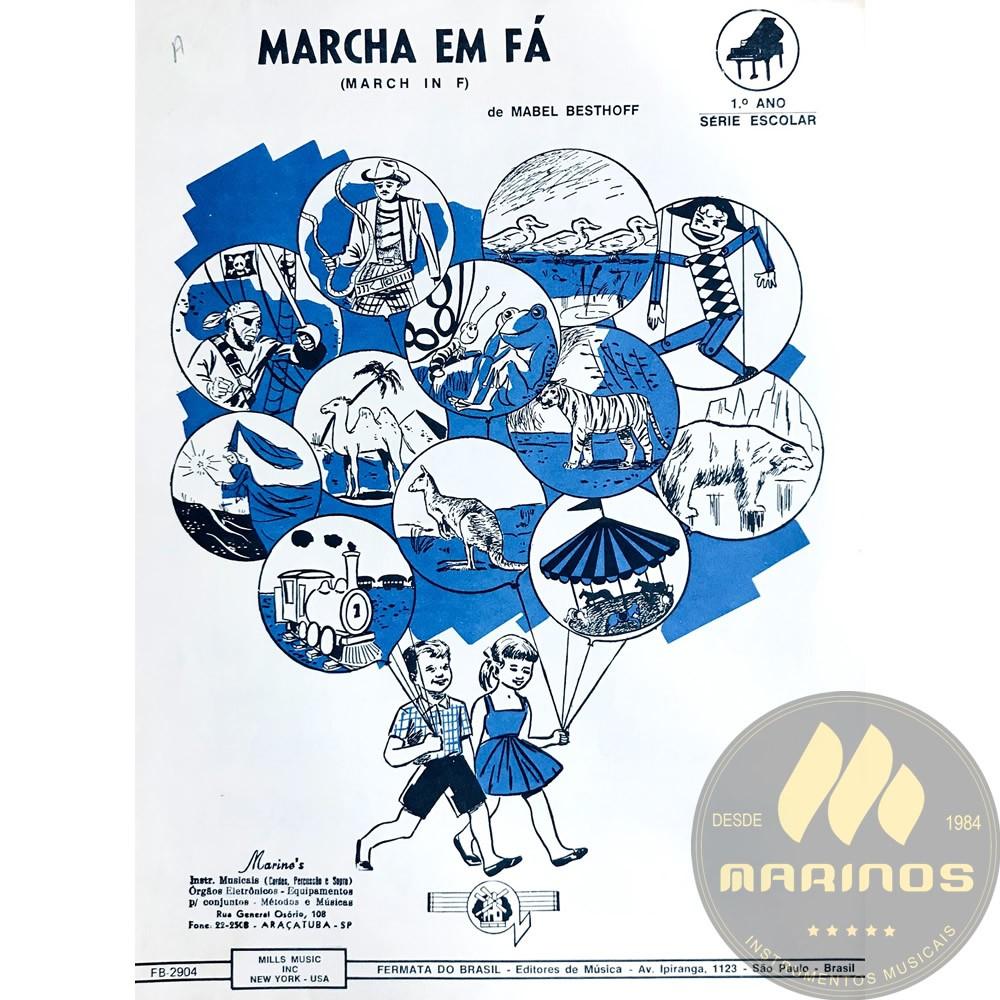 Método Partitura Piano - MARCHA EM FÁ - Mabel Besthoff