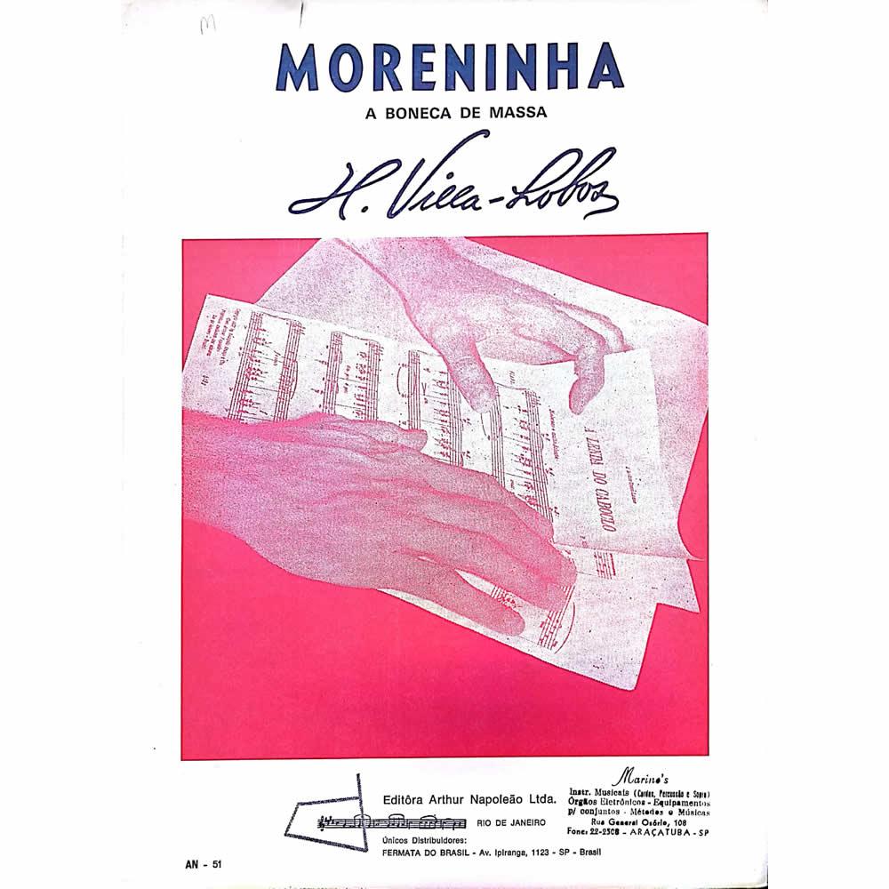 Método Partitura Piano - MORENINHA A BONECA DE MASSA - H. Villa Lobos