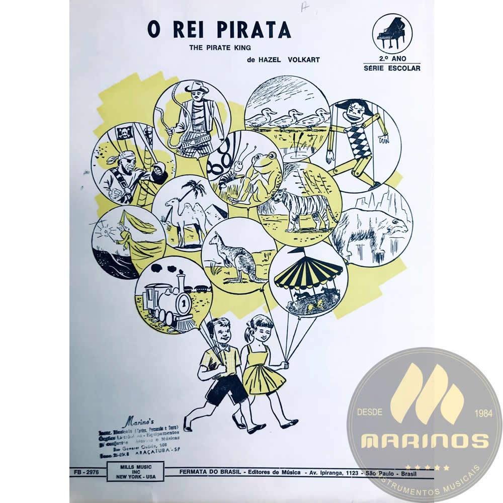 Método Partitura Piano - O REI PIRATA - Hazel Volkart