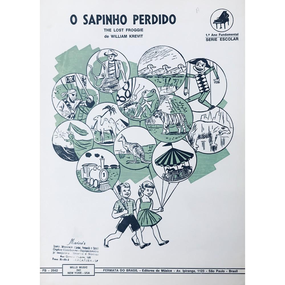 Método Partitura Piano - O SAPINHO PERDIDO - William Krevit