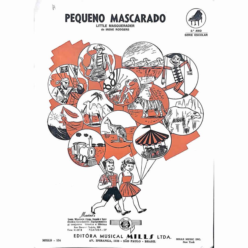 Método Partitura Piano - PEQUENO MASCARADO - Irene Rodgers