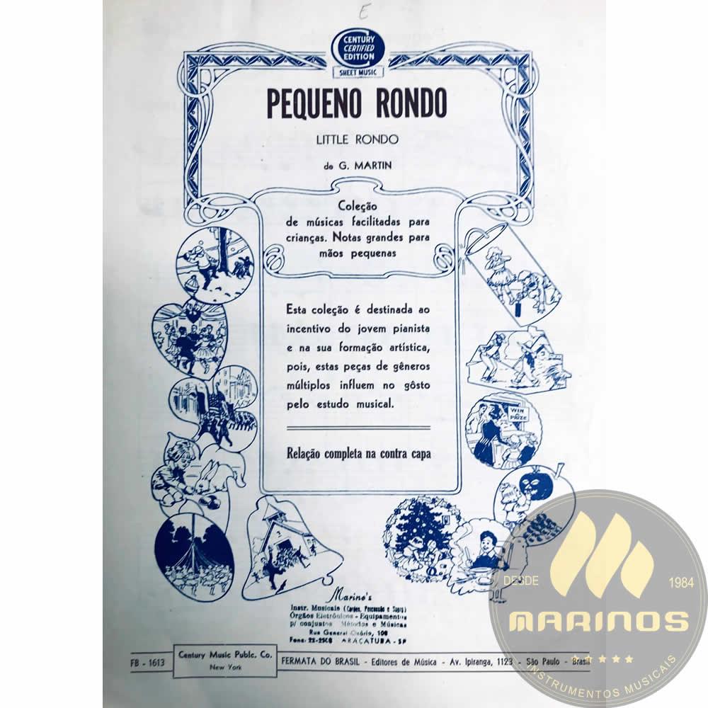 Método Partitura Piano - Pequeno Rondo - G. Martin